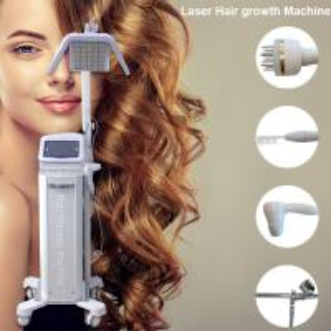 China Low Level 650nm / 670nm Diode Laser Machine Hair Growth Machine Hair Loss Treatment BS-LL7H on sale