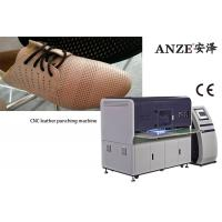 Best 700 Strokes / Min Perforated Punching Machine For CNC Shoe Upper Bag wholesale