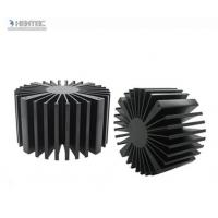Best T4 T5 T6 Temper Heat Sink Aluminium Extrusion Profiles with Black Anodized wholesale