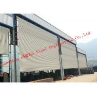 Best Frequency Controlled Vertical Lifting Fabric Industrial Doors For Large Openings wholesale