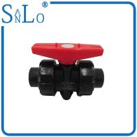 Best 4 Inch Polyethylene Pipe True Union Ball Valve  For Industrial Sewage Discharge Delivery wholesale