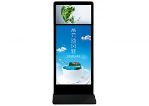 Best PCAP Touch Free Standing Digital Signage Advertising Player 55 65 Inch wholesale