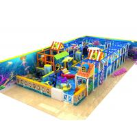 Best Naughty Castle Kids Playground Equipment For Play Center , Outdoor Training Place wholesale