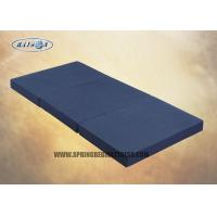 Best High Density Oxford Fabric  Three Sponge Mattress Topper For Travel Foldable wholesale