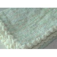 Best 30 X 40 Plain Weave Polyester Baby Blankets , softest Baby boy Blankets Durable wholesale