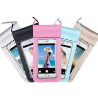 Best 0.3mm Environmental PU + TPU Waterproof Cell Phone Pouch For Promotional Gifts wholesale