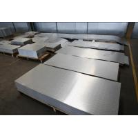 China Embossing Corrugated Aluminium Sheet Easy Process Weld Resistant To Rust on sale