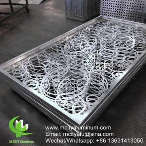 Powder Coated Metal Aluminum Facade Panels Exterior Cladding 1000x2000mm