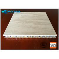 Best Marble Stone Honeycomb Composite Panels 20 - 25 Mm Thickness For Office Decoration wholesale