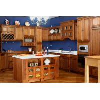 Cheap coffee glazing maple kitchen cabinet for sale