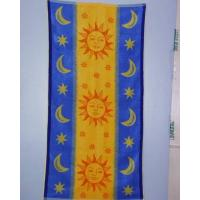 China jacquard and velour beach towels on sale