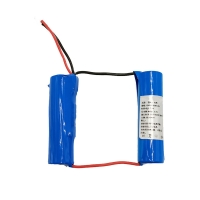 Cheap Custom 7.4 Volt 2500mAh 18650 Lithium Ion Battery 1C Discharge for sale