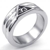 Best Tagor Jewelry Super Fashion 316L Stainless Steel Casting Rings Collection PXR038 wholesale
