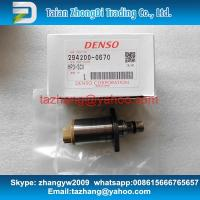 Best DENSO 294200-0670 SCV Pressure Control Valve For 6HK1 Diesel Engines 8981305080 8981818310 wholesale
