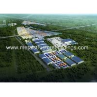 China Multi Storey Prefab Workshop Buildings Kits With Q235b Steel Structure on sale