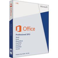 China Genuine Microsoft Office 2013 Retail License , Microsoft Office Professional Plus 2013 on sale