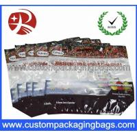 China Zipper Top Cherry Bag Fruit Packaging Bags Clear Plastic Bag wholesale