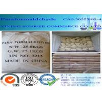 China Paraformaldehyde Combustible White Crystalline Powder CAS 30525-89-4 on sale