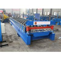 China Durable Garage Shutter Door Roll Forming Machine High Strength Long Life Span on sale