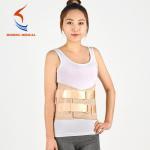 Best SH-401 adjust Shiheng  CE  protects waist brace belt gray golden wholesale