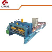 Cheap Galvanized Steel Roofing Sheet Making Machine PLC Control 3-6m/Min Speed for sale