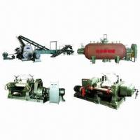 China Rubber Vulcanizing Machine for Reclaimed Rubber, Making Rubber Sheet from Rubber Powder on sale