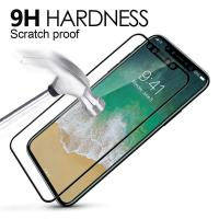 Best 9H Hardness 3D Round Edge Screen Protector Full Coverage Tempered Glass Film For Apple iphone 8 wholesale