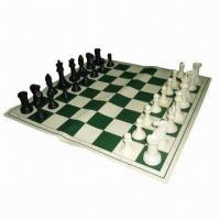Best Tournament Chess Set with 4 inches King and Vinyl Board with Canvas Loop Tote wholesale