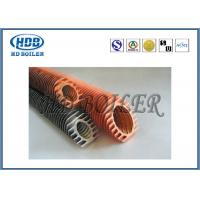 China Industrial Boiler Economizer Heat Exchanger Tubes , Spiral Fin Tube For Heat Transfe on sale
