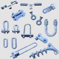 China Light Weight Electric Power Fittings / Pole Line Hardware Easy To Install on sale
