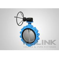 China Lugged Butterfly Valve, Ductile Iron Resilient Seated Butterfly Valve API609 Category A on sale