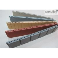 Best Colorful Ceramic Exterior Wall Panels Products Reliable 300 * 800 * F18mm Size wholesale