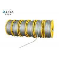 China Galvanized Steel Anti Twist Braid Rope for Transmission Line Stringing on sale
