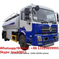 2019s new cheaper price Dongfeng 4*2 LHD diesel tanker truck for sale, High quality and best price petrol fuel truck