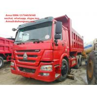 Best 25 30 40 Ton Used Howo Dump Truck More Than 8L Engine Capacity Diesel Fuel wholesale