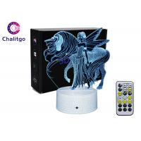 Best Bedside 3D LED Illusion Lamps Decorative Xmas Birthday Gifts Acrylic Night Light wholesale