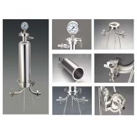 China Electronic Industrial Filter Housing , Stainless Steel Water Filter Housing on sale