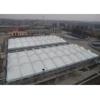 Best Heavy Duty Tensile Membrane Structures Large Square Shade Sail Steel Q235 Frame wholesale