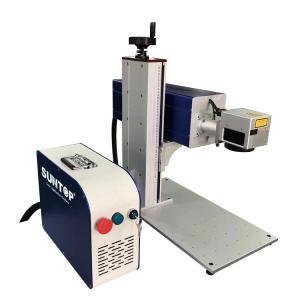 Best 10W 20W 30W CO2 Laser Marking Device Fast Speed Batch Coding For Glass Plastic Bottle wholesale