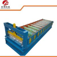 GI Steel Smart Metal Roof Forming Machine With 0 - 15m / Min Forming Speed