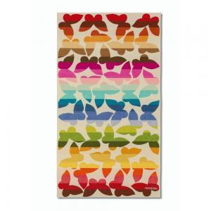 China velvet pile reactive printing beach towel on sale