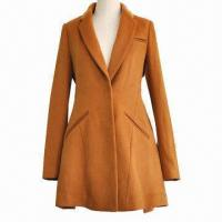 Best Women's Long Overcoat with Bright Color, Slim Fit and Elegant Look wholesale