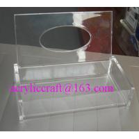Best Customized hand made high quality trasparent acrylic tissue boxes wholesale