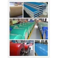 Best prime quality1220mm width ppgl prepainted steel sheet for metal roof sheet wholesale