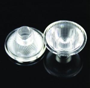 Best Single Led Transparent LED Optical Lens Led street light Pearl Surface wholesale