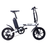 Best 250W Rear Drive 32KM/H Fat Tire Folding Electric Bike wholesale