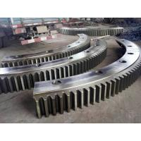 Cheap AISI 4130 (34CrMo4,SCM430,1.7220)Forged Forging Steel Cement Rotary Kiln Girth Gears for sale