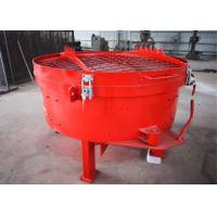 Best Quick Mixing Pan Refractory Mixer Machine With Fast Discharging Speed wholesale