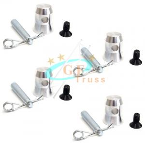 Best T6 Half Conical Coupler For StageTrusses Bed Plate Fit F34 wholesale