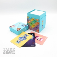 Best Paper Playing Custom Printing Cmyk Educational Flash Cards REACH wholesale